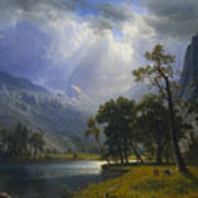 Yosemite_valley Art Print