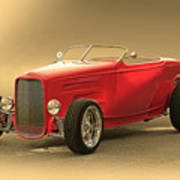 1932 Ford Hiboy Roadster Art Print