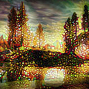 Autumn Landscape Art Print