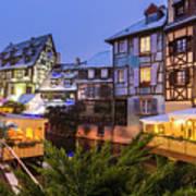 Colmar,petite Venice, Alsace, France, Art Print