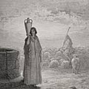 Engraving From The Dore Bible Art Print