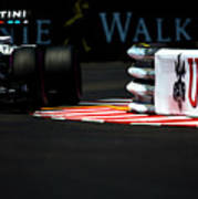 Formula 1 Monaco Grand Prix 2016 Art Print