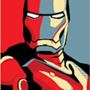 Iron Man Art Print by Caio Caldas