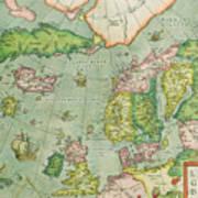 Old Map Art Print