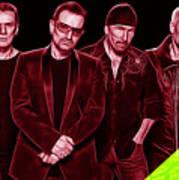 U2 Collection Art Print