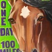 100 Mile Horse Art Print