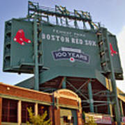 100 Years At Fenway Print by Joann Vitali