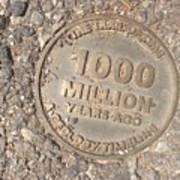 1000 Million Years Ago Art Print