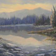 100408-1224  Evening Serenity Art Print