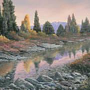 100501-1224  Autumn Reflections Art Print