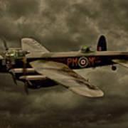 103 Squadron Avro Lancaster Art Print