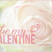 10758 To My Valentine Art Print