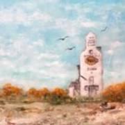 #1082 Saskatchewan Elevator Art Print