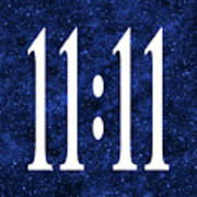 11 11 Art Print