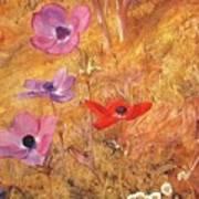 anemones 1876 Henry Roderick Newman Art Print