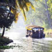 Backwaters Kerala - India Art Print
