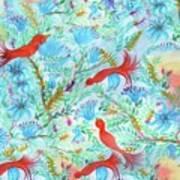 Birds Symphony Art Print