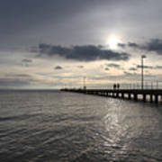 Frankston Beach Art Print