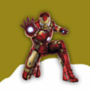 Iron Man Collection Art Print