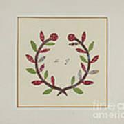 Pieced Autograph Quilt (1 Piece) Art Print