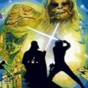 The Star Wars Art Art Print