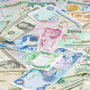 Travel Money - World Economy Art Print