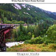 White Pass And Yukon Route Railroad Art Print