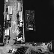 World Trade Center Under Construction 1967 Art Print