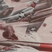 World War II Advertisement Art Print