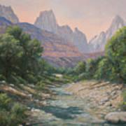 110124-1216   Bryce Canyon Run-off Art Print