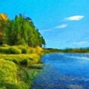 Nature Art Landscape Canvas Art Paintings Oil Art Print