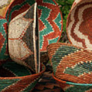 11261 Baskets In Santa Fe Art Print