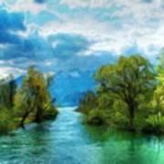 Nature New Landscape Art Print