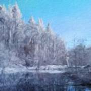 Landscape Nature Scene Art Print
