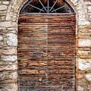 1165 Assisi Italy Art Print