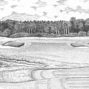11th Hole - Trump National Golf Club Art Print