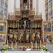 12 Apostles Altar - Rothenburg Art Print