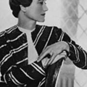 Duchess Of Windsor Wallis Simpson Art Print