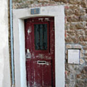 French Doors Art Print
