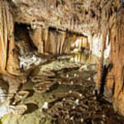 Onondaga Cave Formations Art Print