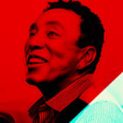 Smokey Robinson Collection Art Print