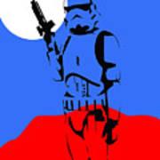 Star Wars Stormtrooper Collection Art Print