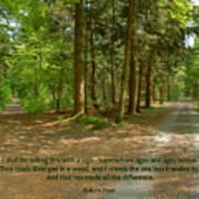 12- The Road Not Taken Print by Joseph Keane
