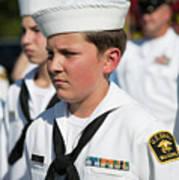 Us Naval Sea Cadet Corps - Gulf Eagle Division, Florida Art Print