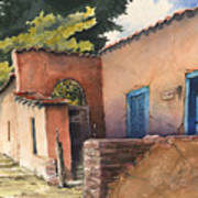 1247 Agua Fria Street Art Print