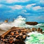 Landscape Paintings Canvas Prints Nature Art  Art Print