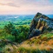 Nature Scenery Oil Paintings On Canvas Art Print