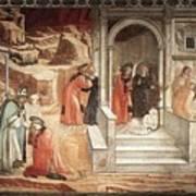 12dispu Fra Filippo Lippi Art Print