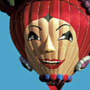 Carmen Miranda Balloon In Albuquerque Art Print