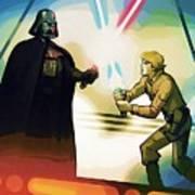Galaxies Star Wars Art Art Print